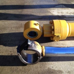 Fabricate and replace hydraulic cylinder