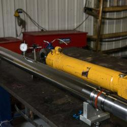 Work on a Hydraulic Cylinder