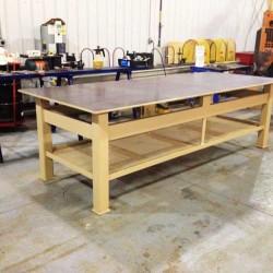 Shop table 4X10 Harvest